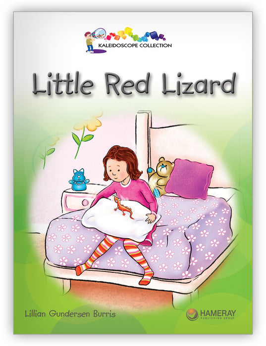 Little Red Lizard from Kaleidoscope Collection