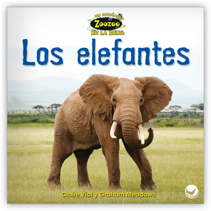 Los elefantes Leveled Book