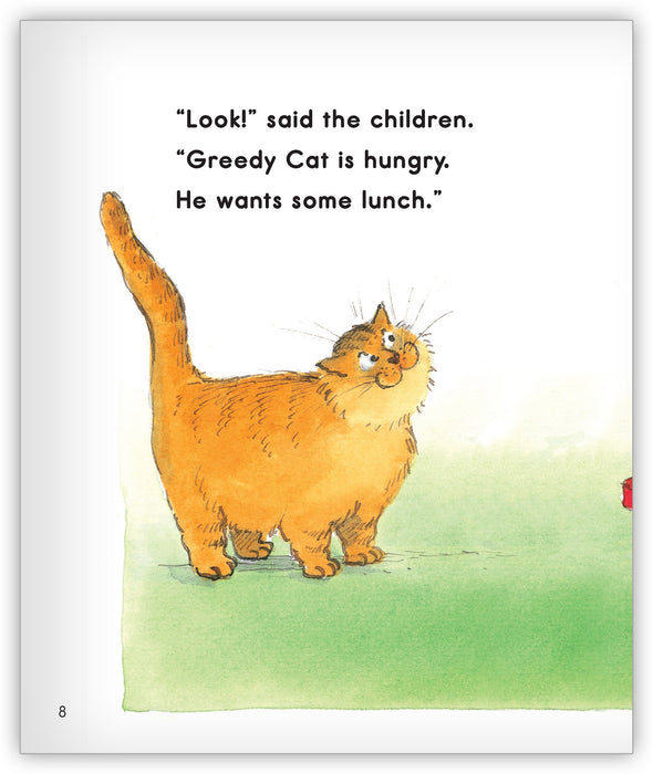 Lunch for Greedy Cat Big Book Leveled Book