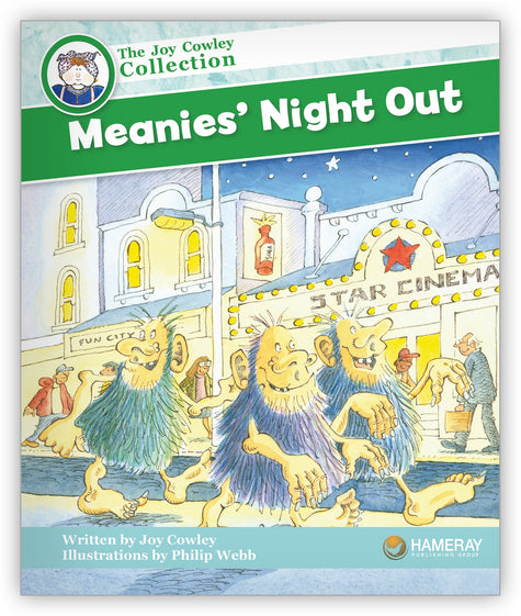Meanies' Night Out Big Book from Joy Cowley Collection