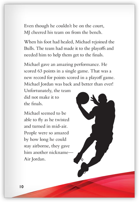 Michael Jordan: The Basketball Legend from Inspire!