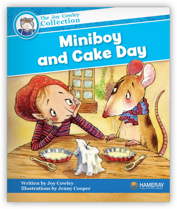 Miniboy and Cake Day Leveled Book
