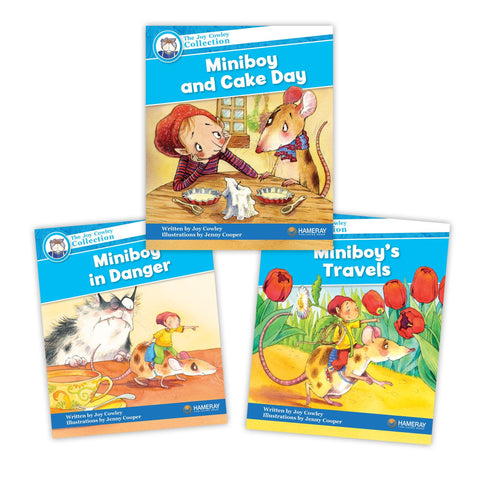 Miniboy Character Set Image Book Set