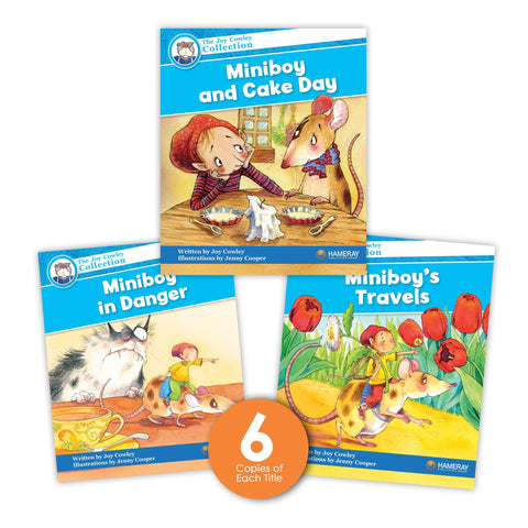 Miniboy Guided Reading Set from Joy Cowley Collection