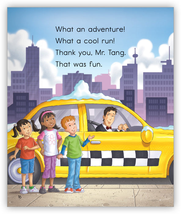 Mr. Tang's Taxi in the Snow Leveled Book