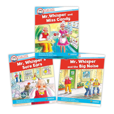Mr Whisper Character Set Image Book Set