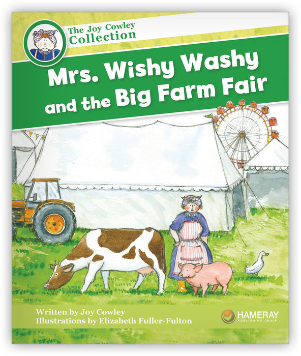 Mrs. Wishy-Washy and the Big Farm Fair Big Book Leveled Book