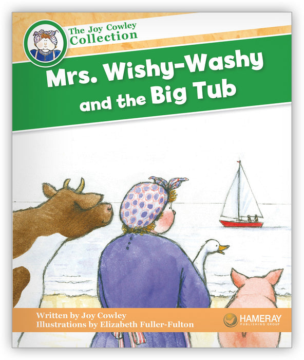 Mrs. Wishy-Washy and the Big Tub Big Book Leveled Book