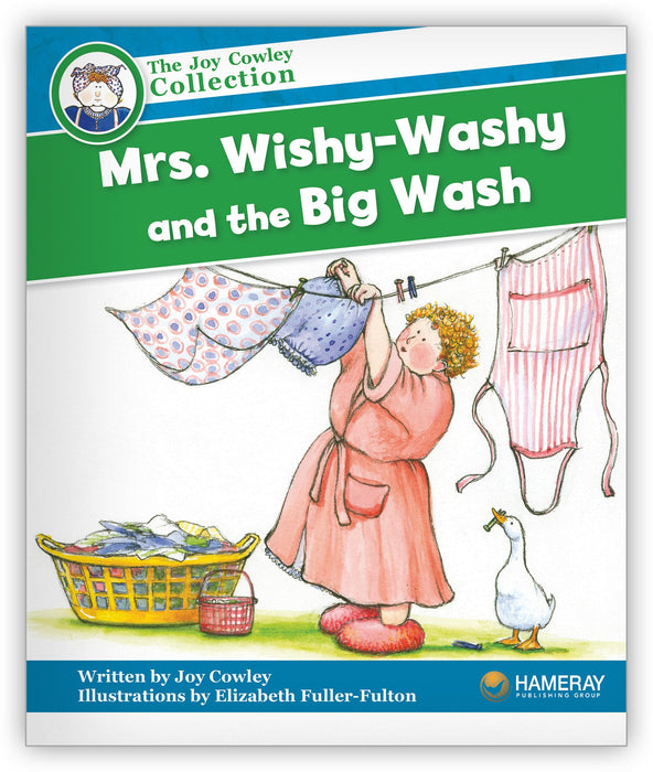 Mrs. Wishy-Washy and the Big Wash Big Book Leveled Book