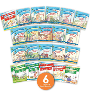Mrs. Wishy-Washy Guided Reading Set and Big Books from Joy Cowley Collection, Joy Cowley Early Birds