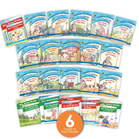 Mrs Wishy Washy Guided Reading Set And Big Books Image Book Set