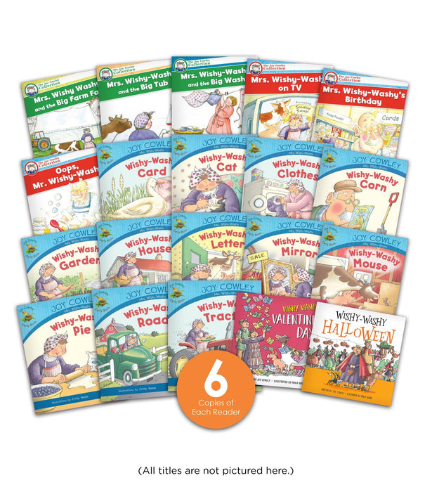 Mrs Wishy Washy Guided Reading Set Image Book Set