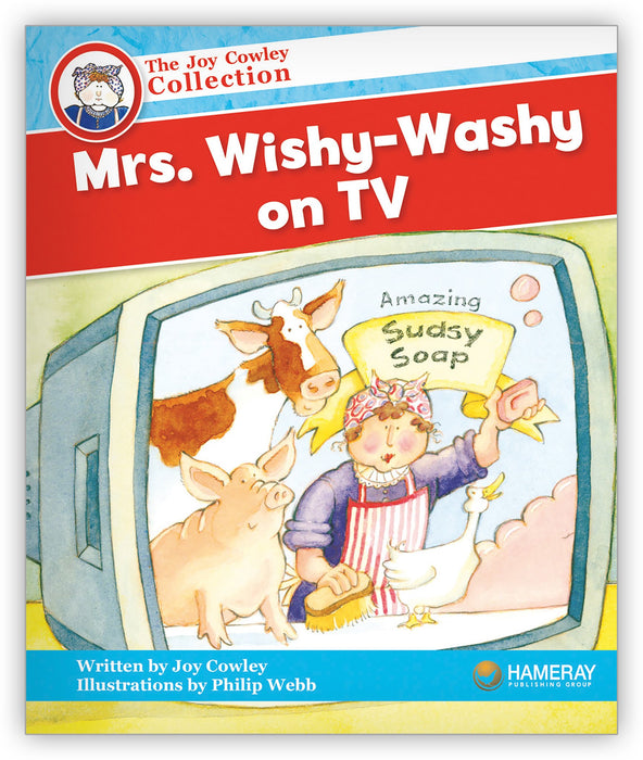 Mrs. Wishy-Washy on TV Big Book from Joy Cowley Collection
