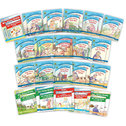 Mrs Wishy Washy Package And Big Books Image Book Set