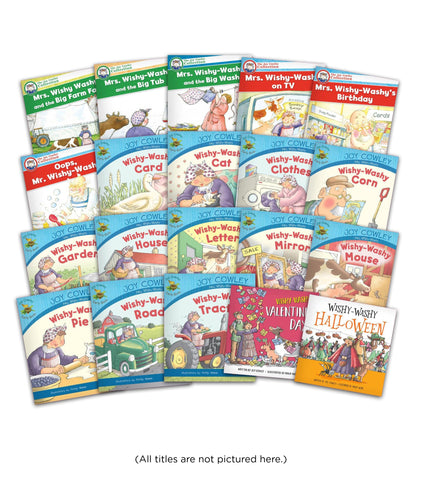 Mrs Wishy Washy Package Image Book Set