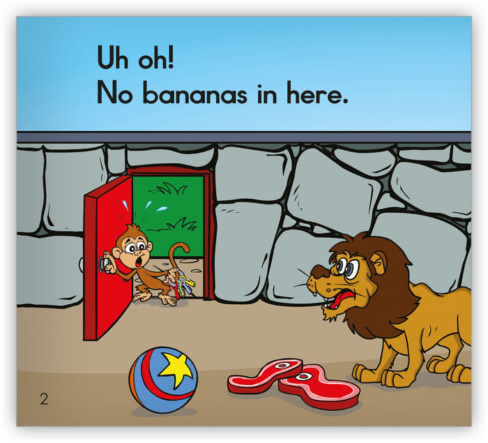 No Bananas in Here Teacher's Edition from Zoozoo Storytellers