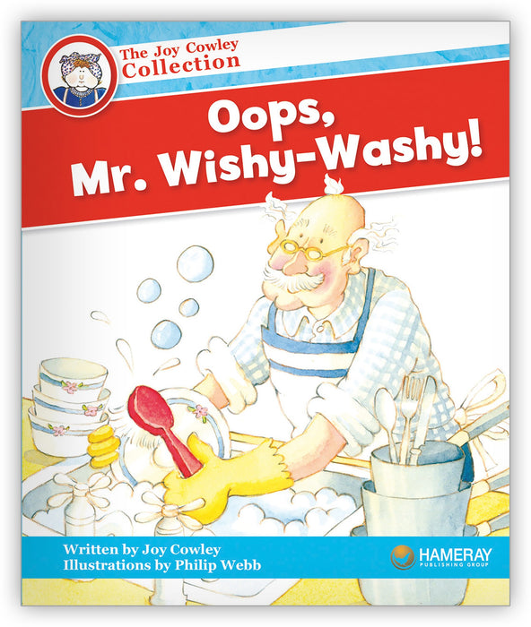 Oops, Mr. Wishy-Washy! Leveled Book