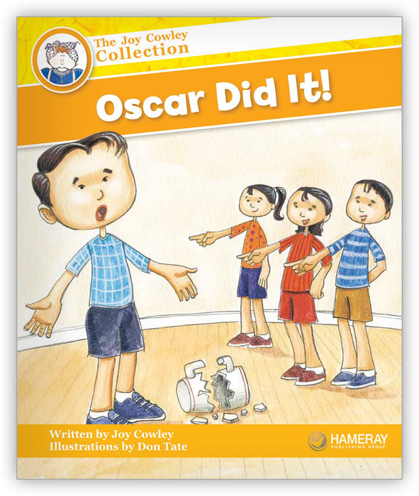 Oscar Did It! Leveled Book