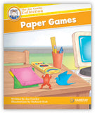 Paper Games Leveled Book
