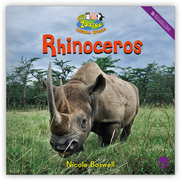 Rhinoceros Big Book from Zoozoo Animal World