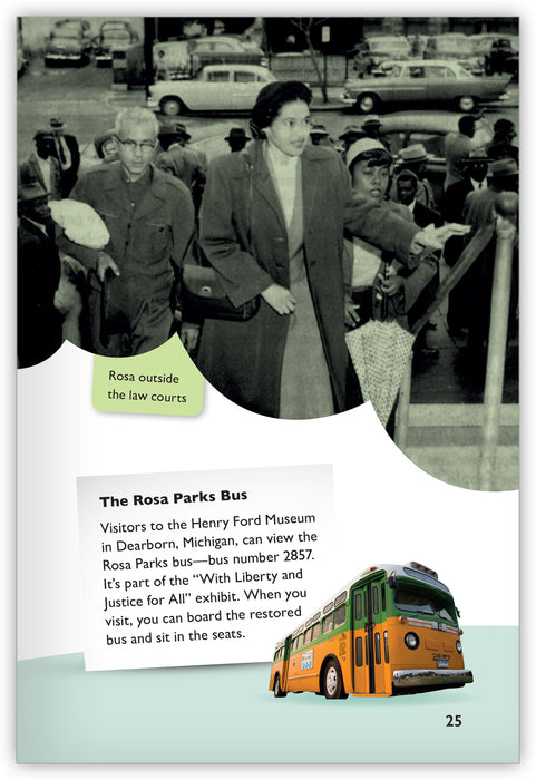 Rosa Parks: Riding for Freedom Leveled Book