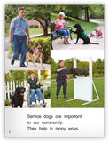 Service Dogs Leveled Book