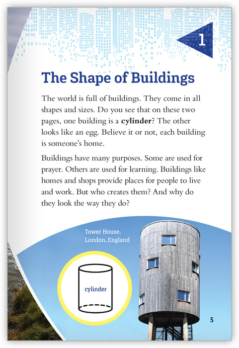 Shape Up! Buildings of All Shapes and Sizes Leveled Book