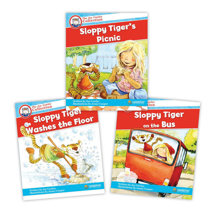 Sloppy Tiger Character Set Image Book Set