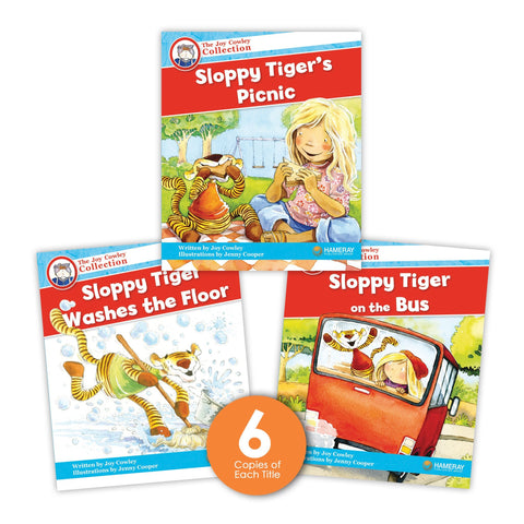 Sloppy Tiger Guided Reading Set from Joy Cowley Collection