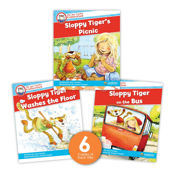 Sloppy Tiger Guided Reading Set Image Book Set