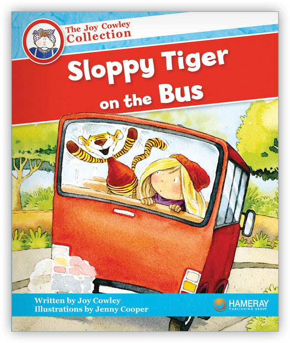 Sloppy Tiger on the Bus Leveled Book