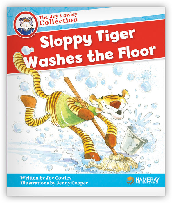 Sloppy Tiger Washes the Floor Leveled Book