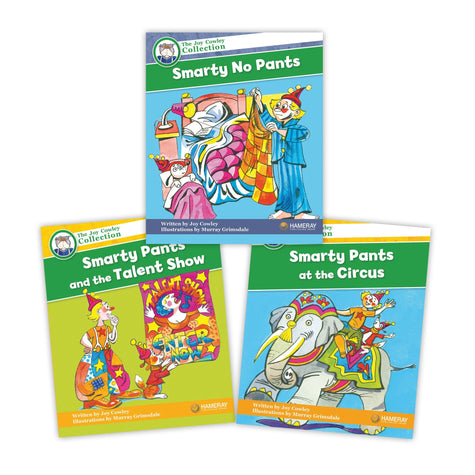 Smarty Pants Character Set Image Book Set