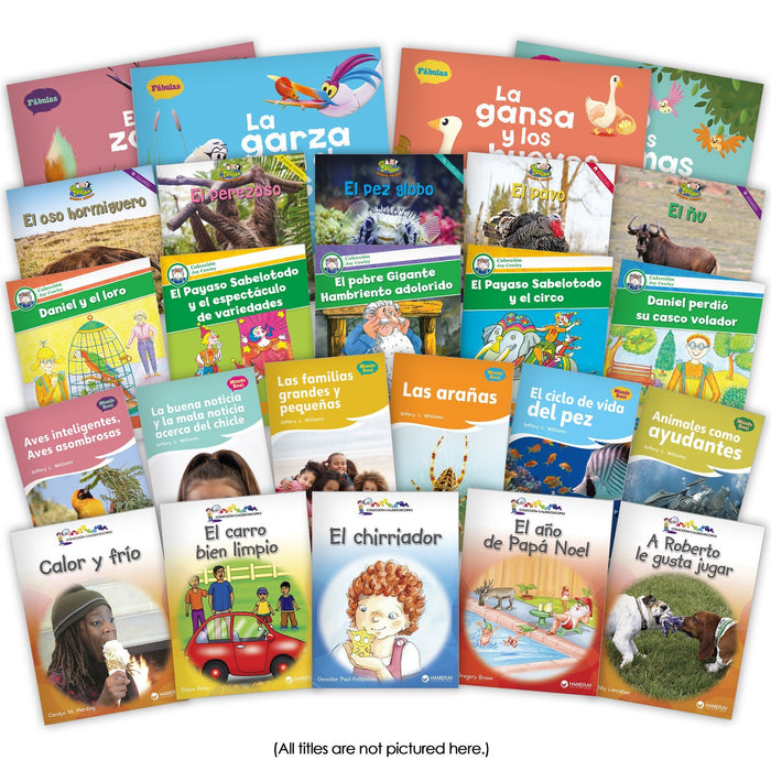 Spanish 1St Grade Set Image Book Set