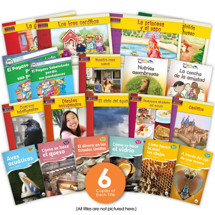 Spanish 2Nd Grade Guided Reading Set Image Book Set