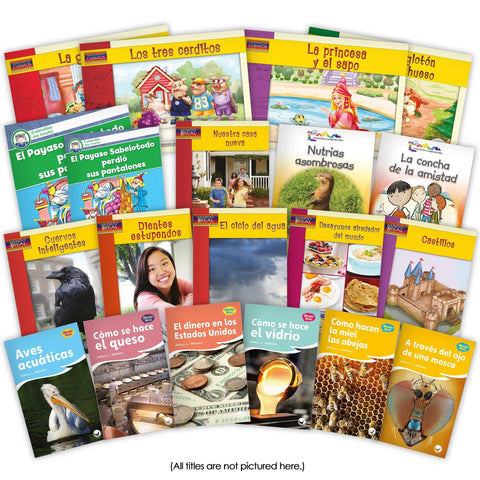 Spanish 2Nd Grade Set Image Book Set