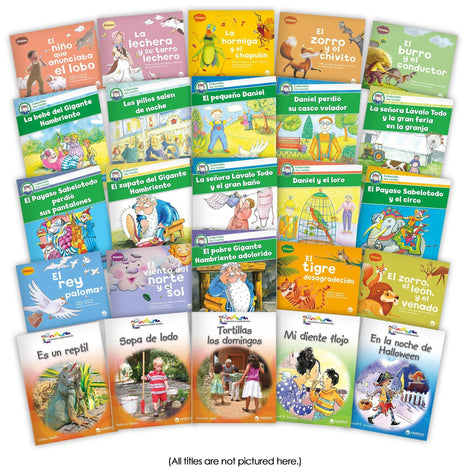 Spanish Big Book Collection Image Book Set