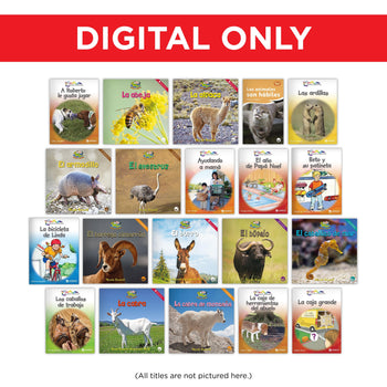 Spanish Early 1st Grade Library Digital Set from Various Series