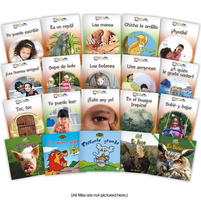 Spanish Level B Set Image Book Set