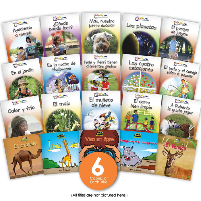 Spanish Level D Guided Reading Set Image Book Set