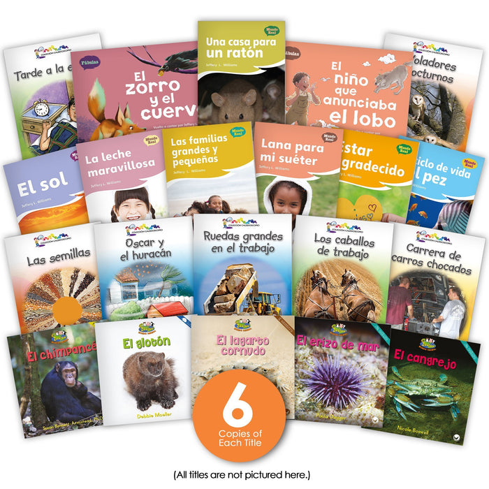 Spanish Level G Set Image Book Set