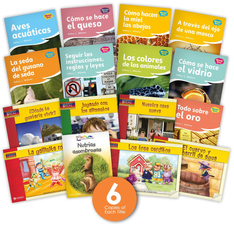 Spanish Level J Guided Reading Set Image Book Set
