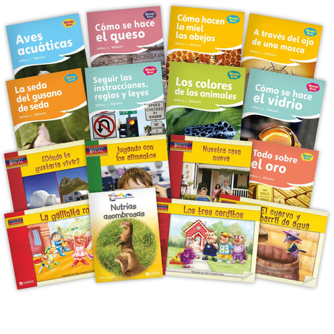 Spanish Level J Set Image Book Set
