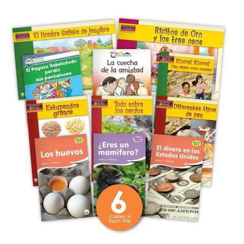 Spanish Level K Guided Reading Set from Various Series