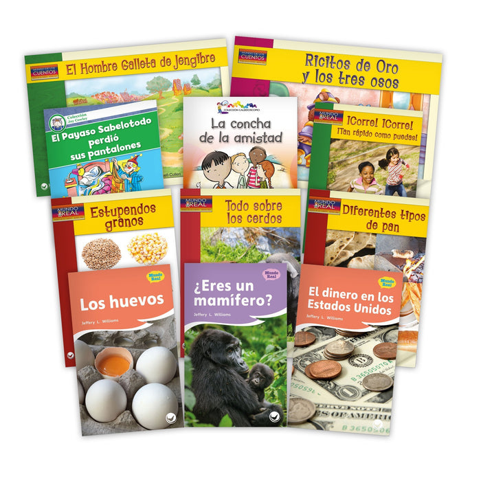 Spanish Level K Set Image Book Set