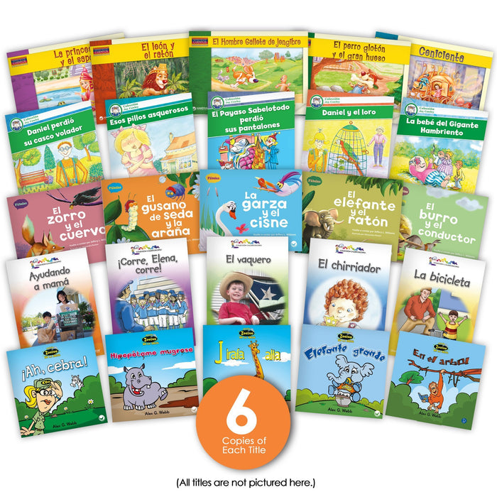 Spanish Narrative Text Guided Reading Set Image Book Set