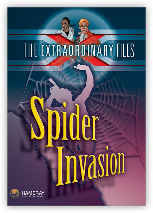 Spider Invasion Leveled Book