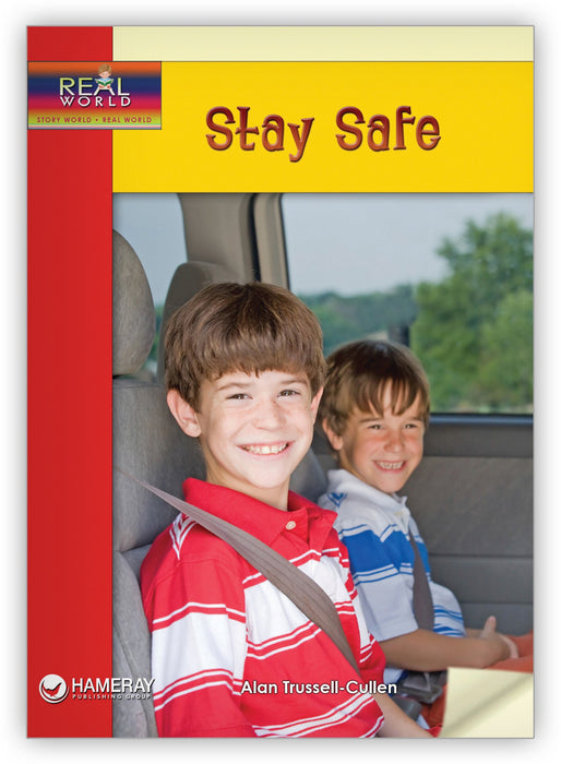 Stay Safe Leveled Book