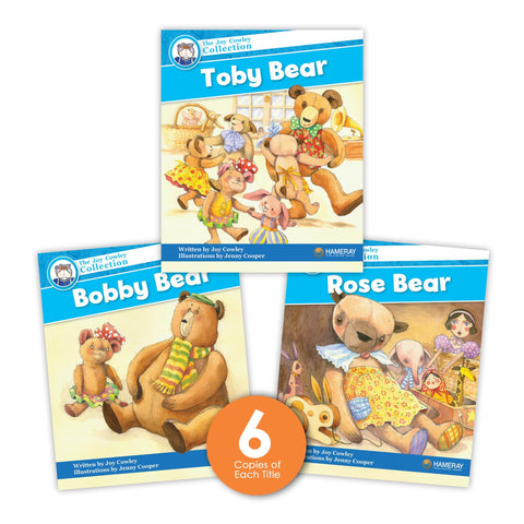 Teddy Bear Museum Guided Reading Set from Joy Cowley Collection
