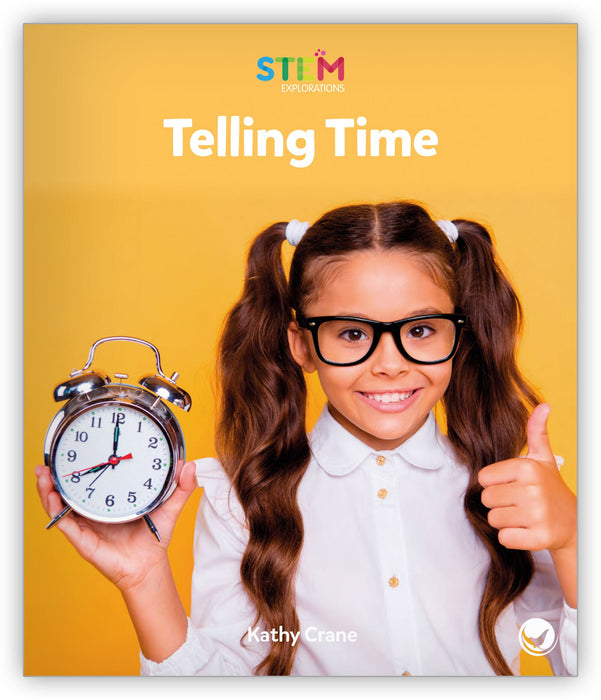 Telling Time Leveled Book